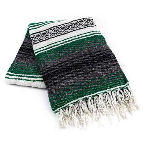 Emerald Mexican Blanket