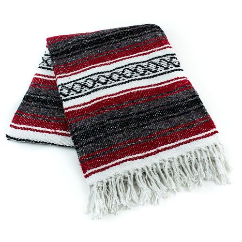 Red Mexican Blanket