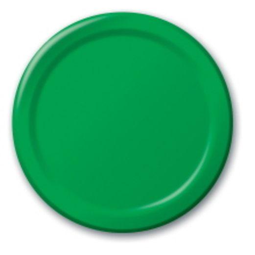 Green Dinner Plates