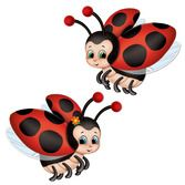 Mother's Day Decorations Ladybug Cutouts Image