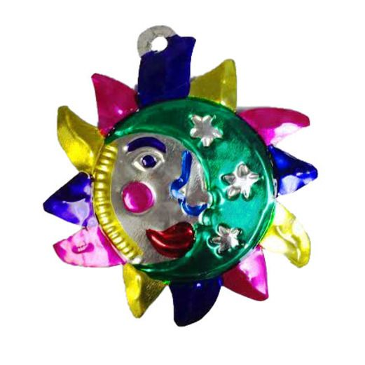 Decorations Eclipse Tin Ornament Image