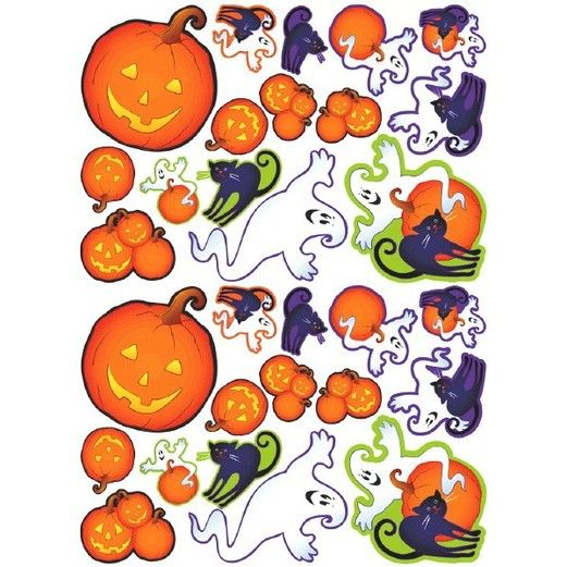 Halloween Decorations Cutie Characters Cutouts Image