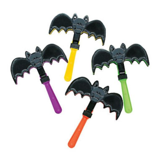 Halloween Favors & Prizes Bat Wing Clappers Image
