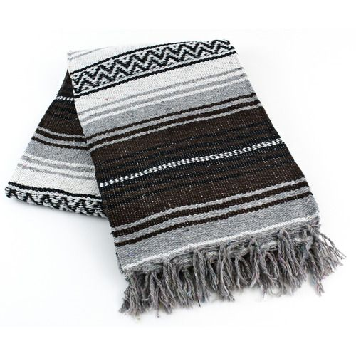 Brown Mexican Blanket