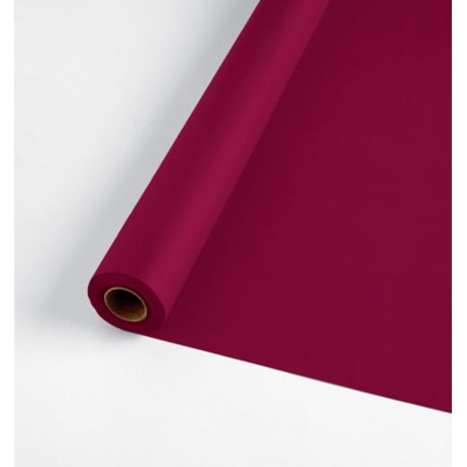 Valentine's Day Table Accessories 100' Burgundy Table Roll Image