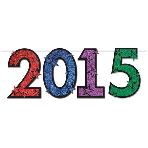 Graduation Decorations 2015 Multicolor Streamer Image