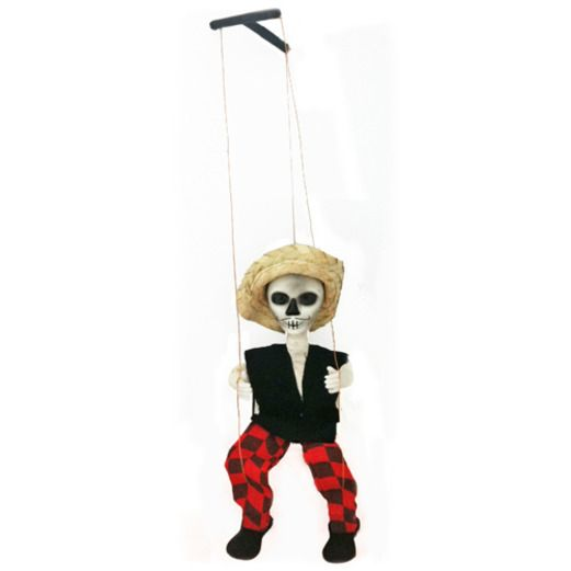 Day of the Dead Decorations Day of the Dead Male Marionette Image