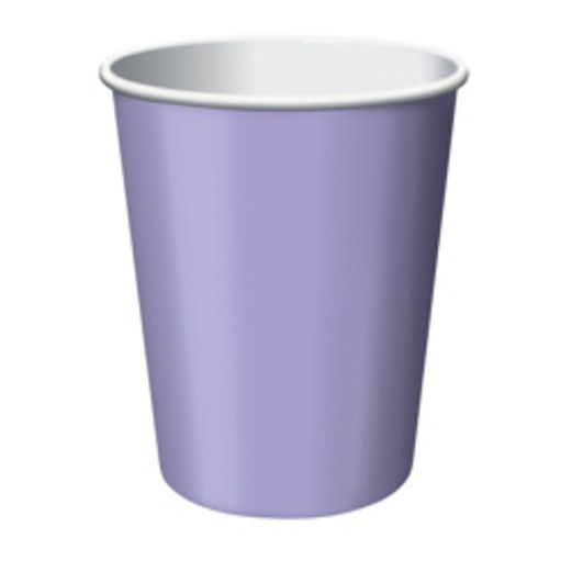 Baby Shower Table Accessories Lavender Cups Image