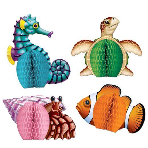 Luau Decorations Sea Creatures Playmates Image