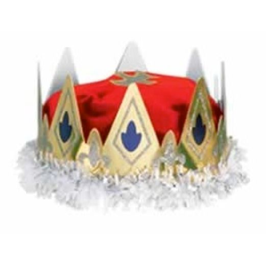 Queen's Crown Red Velour
