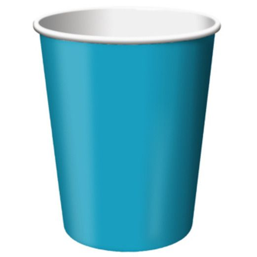 Table Accessories Turquoise Cups Image