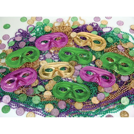 Mardi Gras Party Kits Bourbon St. Party Kit for 50 Image