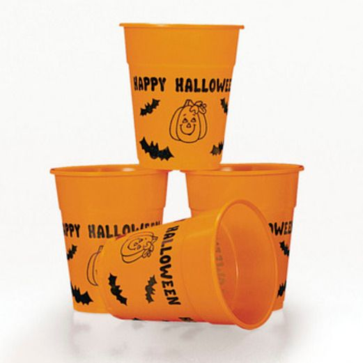 Halloween Table Accessories Plastic Halloween Cups Image