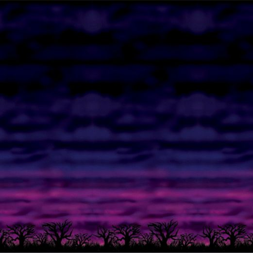 Halloween Decorations Spooky Sky Backdrop Image