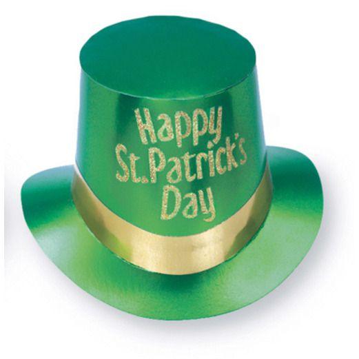 St. Patrick's Day Hats & Headwear St. Patrick's Top Hat Image