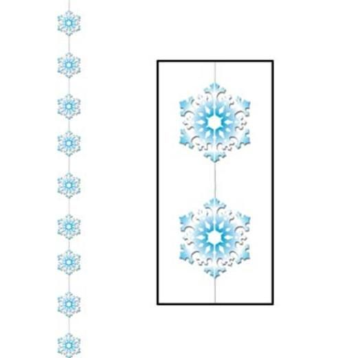 Christmas Decorations Snowflake Stringer Image