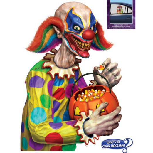Creepy Clown Backseat Driver