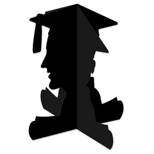 Graduation Decorations 3-D Boy Graduate Centerpiece Image