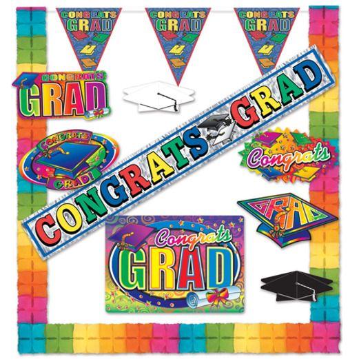 Graduation Decorations Graduation Party Kit Image
