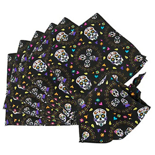 Day of the Dead Party Wear Day of the Dead Bandana Image
