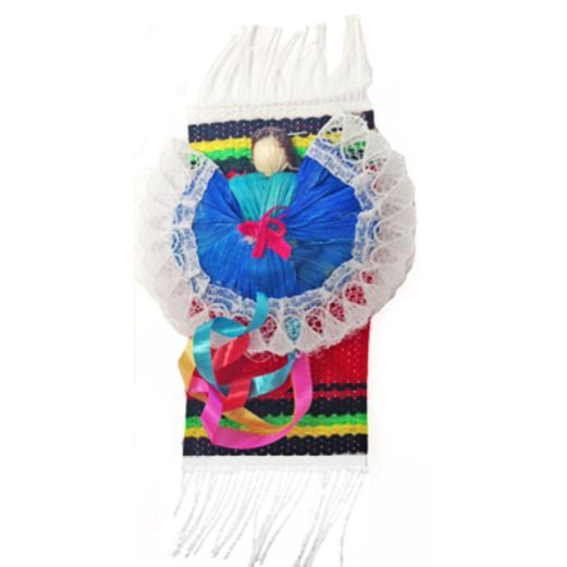 Fiesta Decorations Folklorico Dancer Pin Image