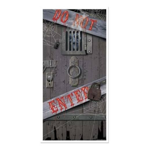 Halloween Decorations Spooky Halloween Door Cover Image