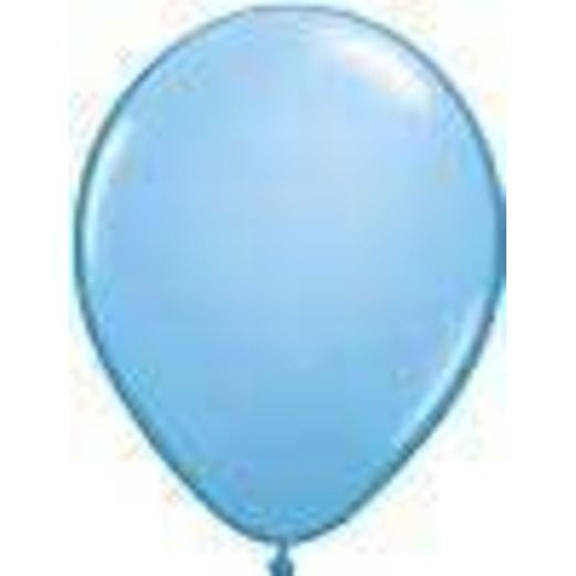 "Baby Shower Balloons 11"" Light Blue Balloons Image"