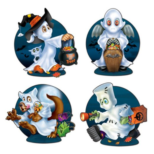 Halloween Decorations Ghost Kids Cutouts Image
