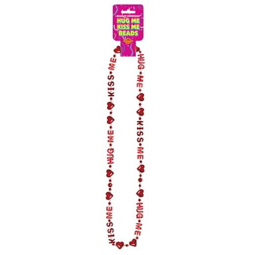 Valentine's Day Party Wear Hug Me Bead Necklace Image