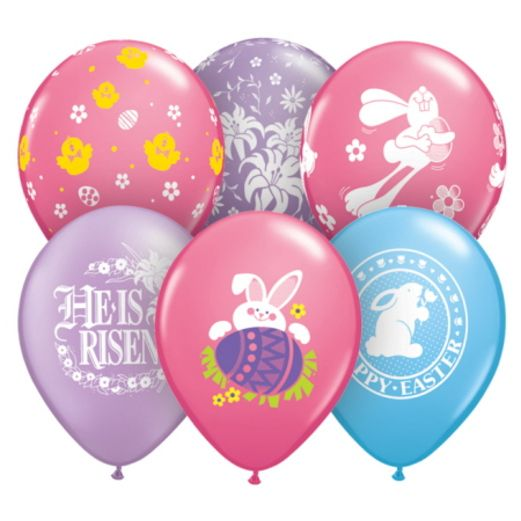 Easter Balloons Easter  Balloon Assortment Image