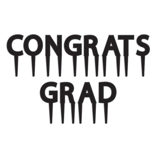 Graduation Table Accessories Congrats Grad Picks Image