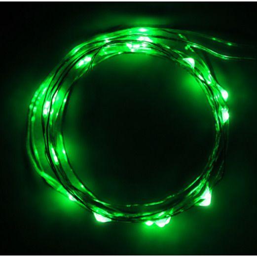 Glow Lights Green LED String Lights Image