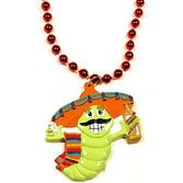 Cinco de Mayo Party Wear Worm Tequila Necklace Image
