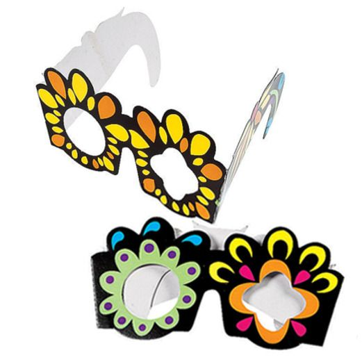 Day of the Dead Favors & Prizes Day of the Dead Glasses Image