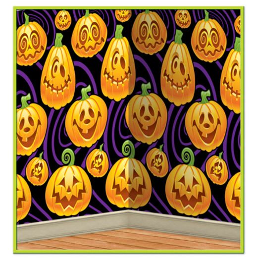 Halloween Decorations Jack O' Lantern Backdrop Image