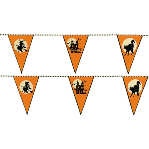 Halloween Decorations Halloween Pennant Banner Image