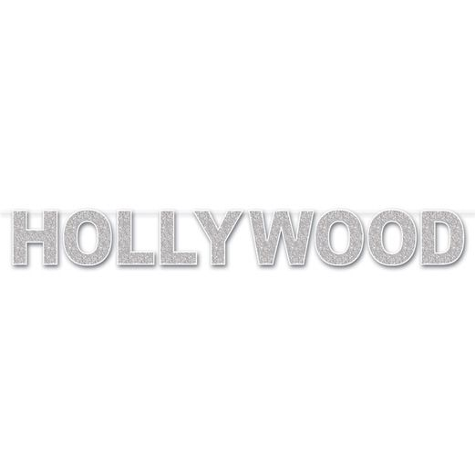 Decorations / Banners & Garlands Hollywood Glittered Streamer Image