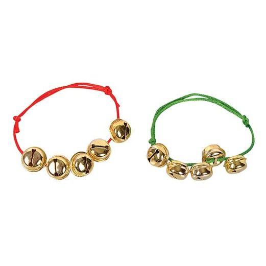 Christmas Party Wear Jingle Bell Bracelets Image