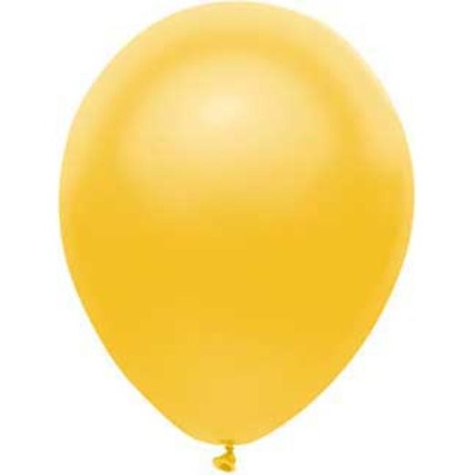 "New Years Balloons 11"" Radiant Gold Balloons (100/pkg.) Image"