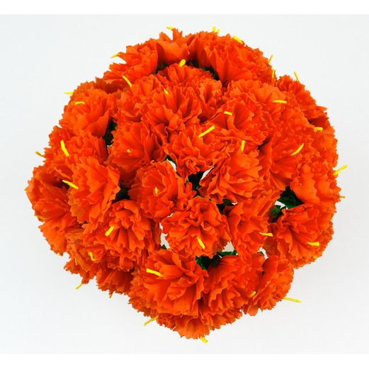 Cinco de Mayo Decorations Orange Carnations Image