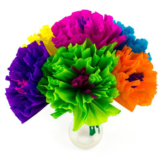 Mexican paper flowers mexican party supplies at amols fiesta cinco de mayo decorations chayos flowers 55 image mightylinksfo