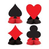 Casino Decorations Card Suit Playmates Image