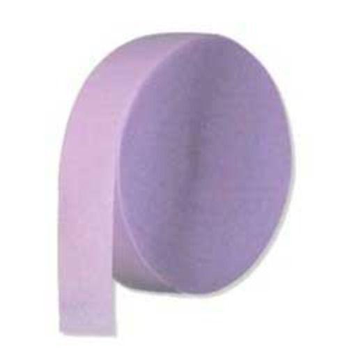 Baby Shower Decorations Crepe Streamer Lavender Image