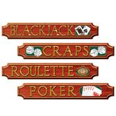 Casino Decorations Casino Sign Cutouts Image