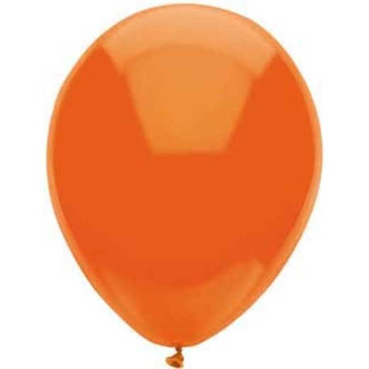 "Halloween Balloons 11"" Orange Balloons Image"