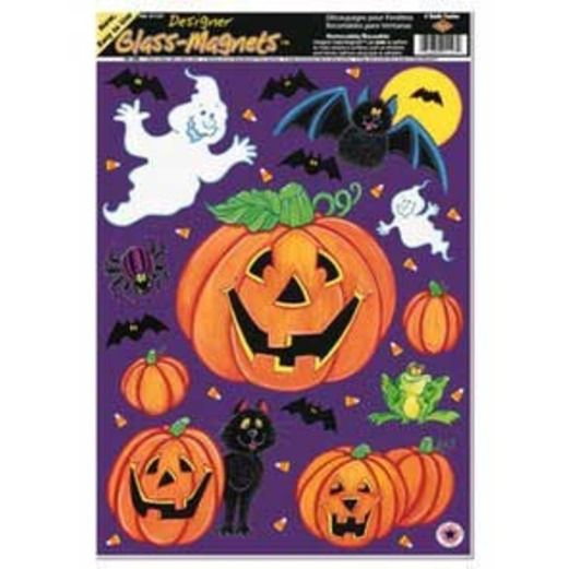 Halloween Decorations Pumpkin Patch Clings Image