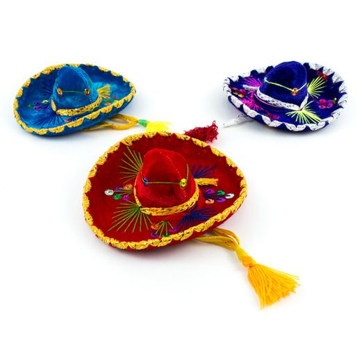 Cinco de Mayo Decorations Small Mariachi Sombrero Image