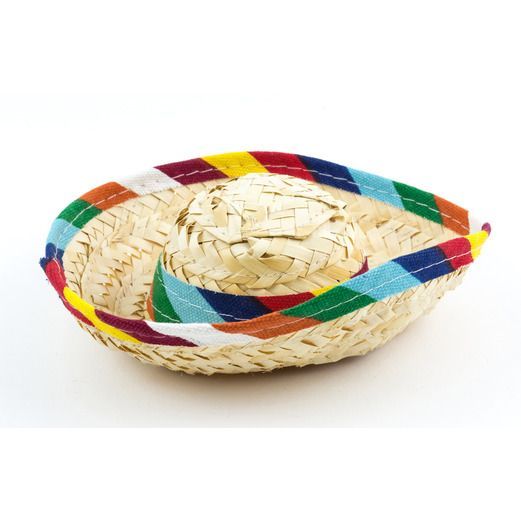 Cinco de Mayo Decorations Mini Serape Sombrero Image