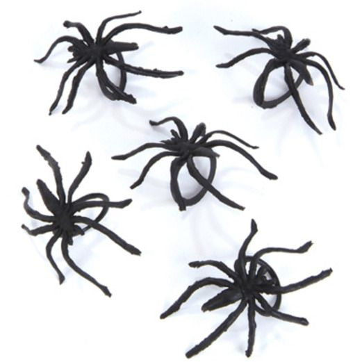 Halloween Favors & Prizes Spider Rings  Image