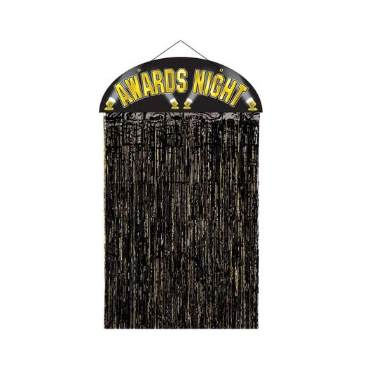 Awards Night & Hollywood Decorations Awards Night Door Curtain Image